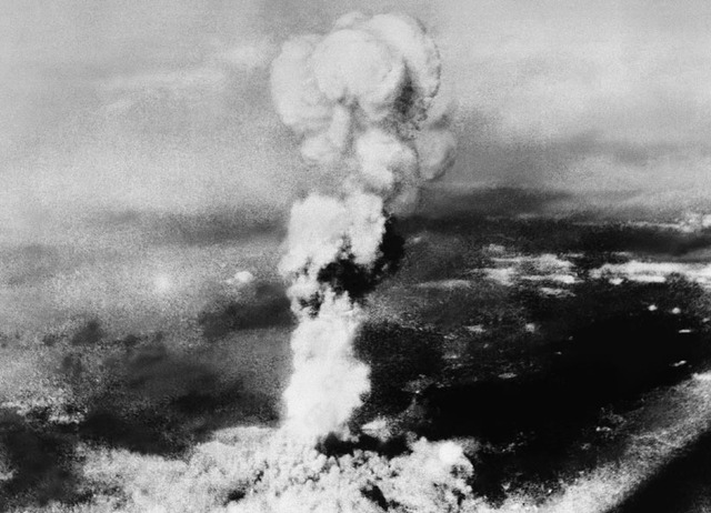 the first atomic bomb used