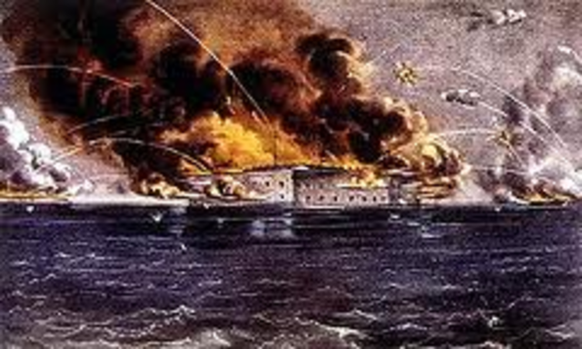 Battle at Fort Sumpter