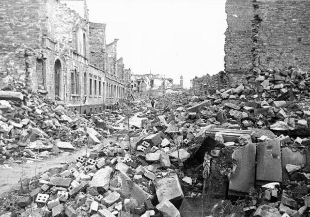 Hitler's wrath on  Piotrkow