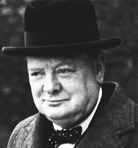 Winston Churchill becomes prime Minister