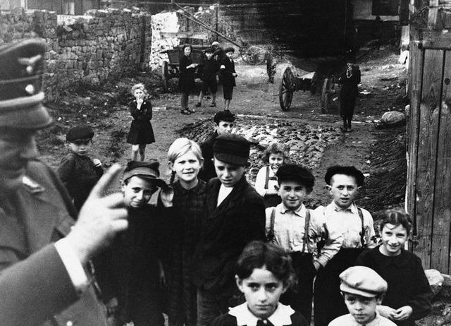Nazi leaders decide the fate of Polish children
