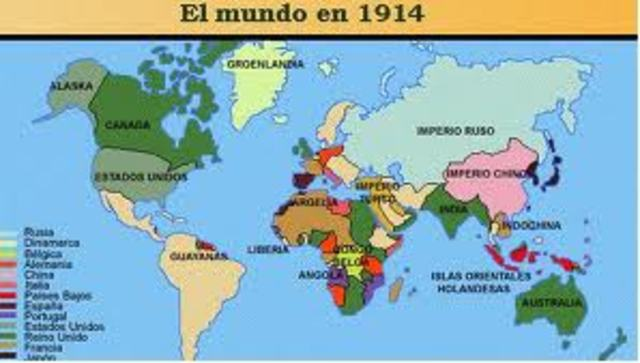 Las naciones centrales y las perifricas junto con las semiperifericas.