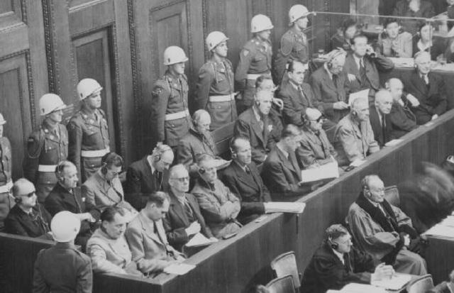 First War Crimes trials in Nuremberg