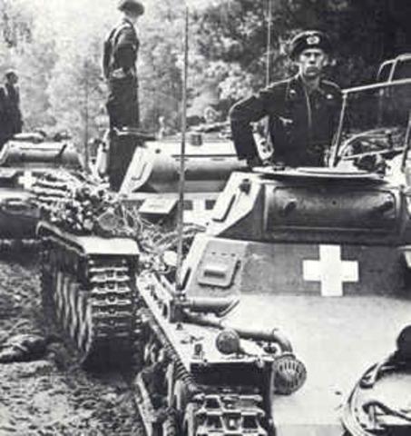 Germany attacks poland