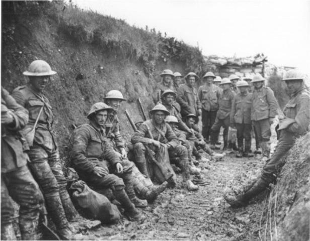 The Great War began
