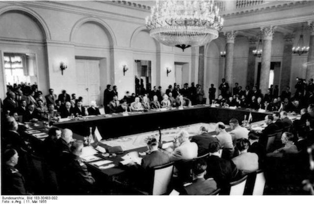 Warsaw Pact Established