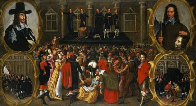 Charles I executed