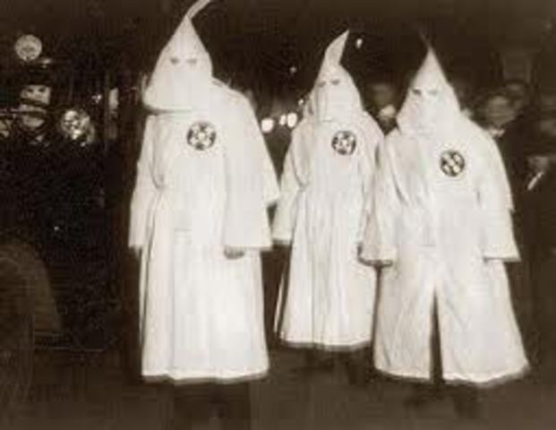 KKK riots in NYC