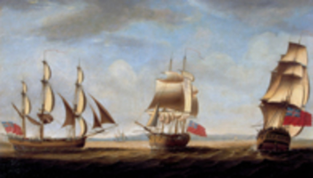 A FLEET OF ELEVEN SHIPS (known as the FIRST FLEET)