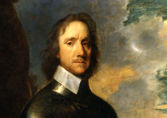Cromwell installed as Lord Protector