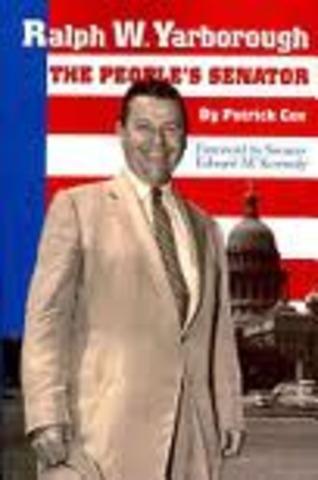 Senator Yarborough, Tx