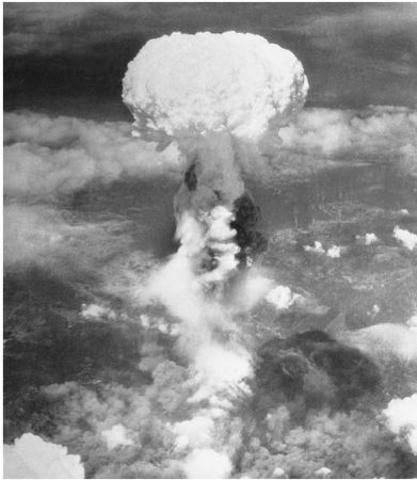 Nagasaki is bombed