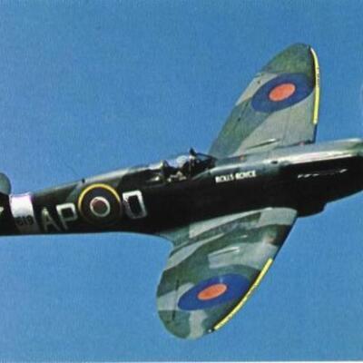 British Planes of WWII timeline
