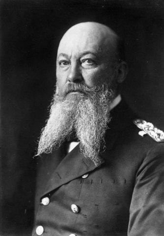 Admiral Alfred von Tirpitz