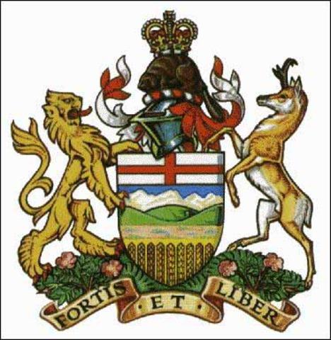 Alberta entered Canada