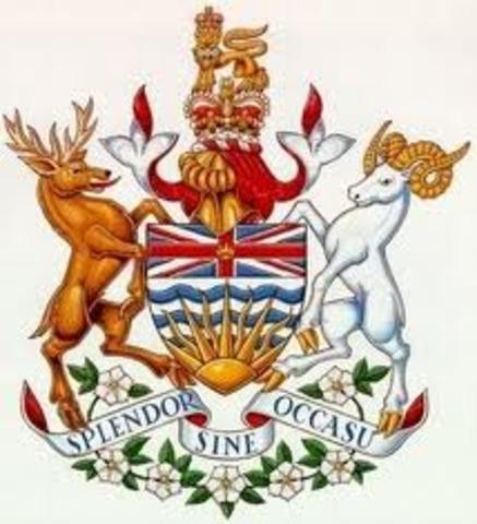 British Columbia entered Canada