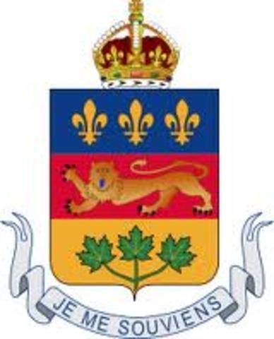 Quebec entered Canada