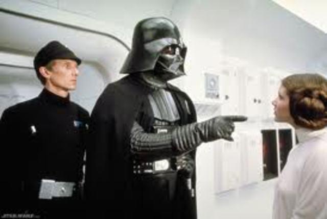 Star Wars begins