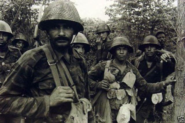 Toma militar de EEUU en Cuba.