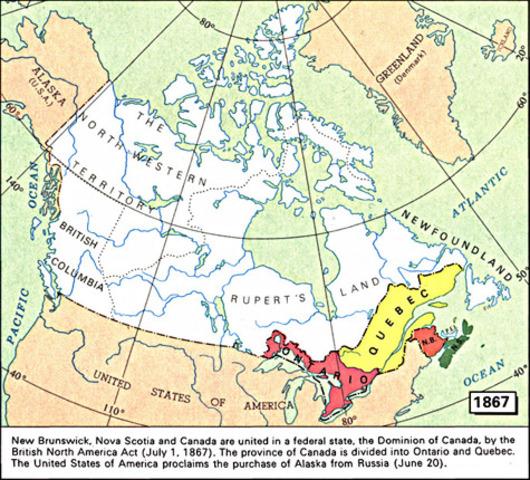 British North America Act of 1867