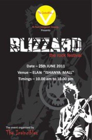 Blizzard Rock Band Show Pune