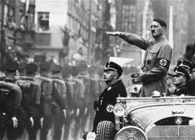 Nazis invade Denmark, Norway, the Netherlands,Luxembourg and Belgium – take control