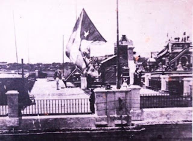 Retirada de la  toma militar de EEUU en Cuba.