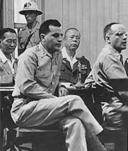 War Crimes Trials held in Nuremburg Germany; Manila, Philippines and Tokyo, Japan.