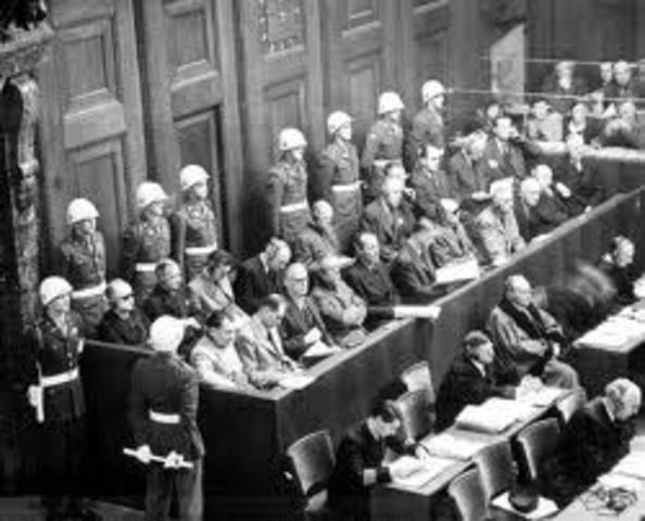 War Crimes Trials held in Nuremberg, Germany; Manila, Philippines and Tokyo, Japan
