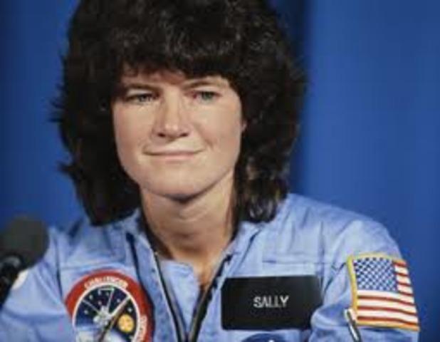 A woman astronaut?