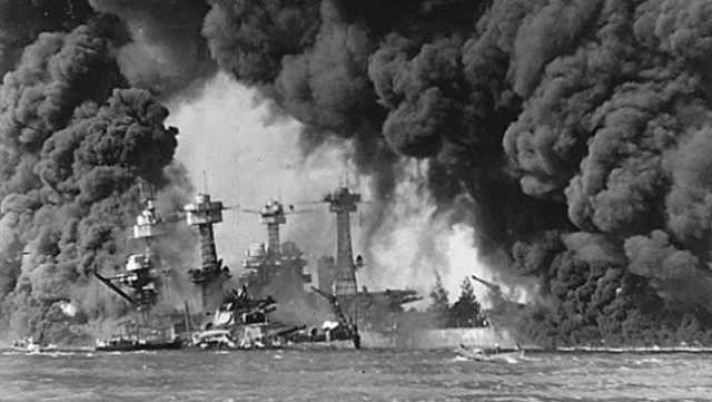 Japan attacks Pearl Harbour