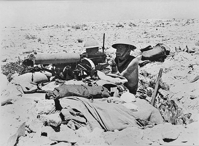 British offensive at El-Alemein
