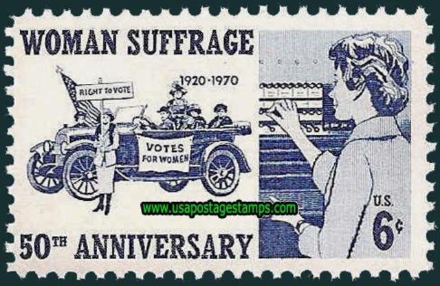 Women's Suffrage 50th Anniversary