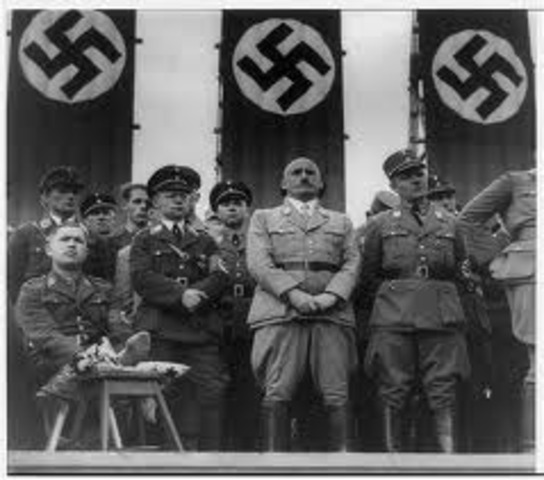 The Nazi Party declared the only political party in Germany.
