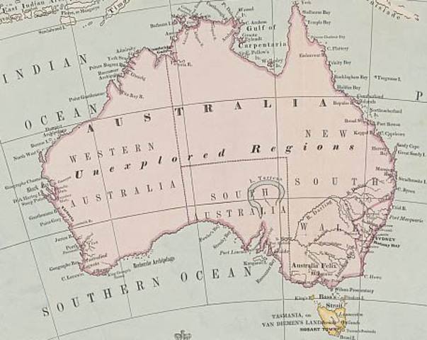 NEW SOUTH WALES SPLIT IN TWO