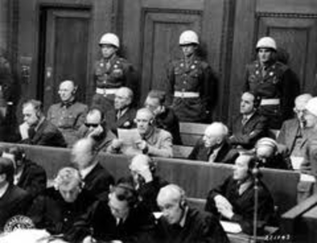 War Crimes Trials Held in Nuremburg, Germany