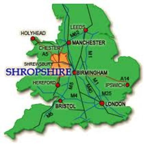 Prim goes to Shropshire