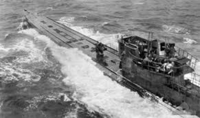 Nazis are torpeadoeing all ships coming/going to Panama