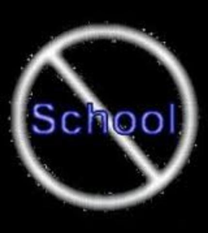 No more school for the Jews
