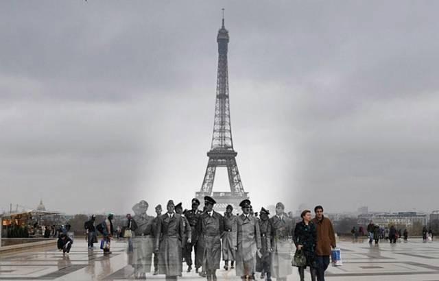 Germans enter Paris
