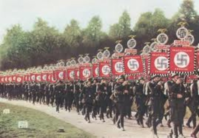 there will be novote hitler is just invadeing vienna