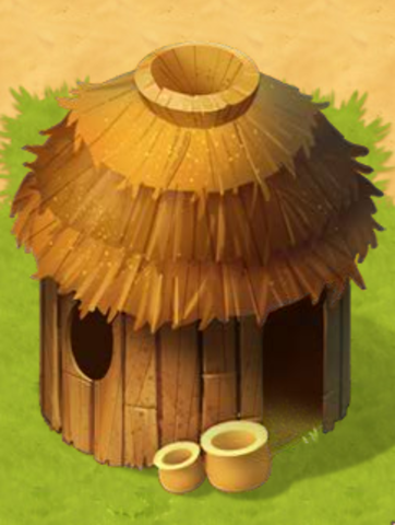 Timothy fashions a cane for Phillip and builds a hut