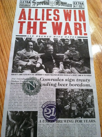 America wins the war!!