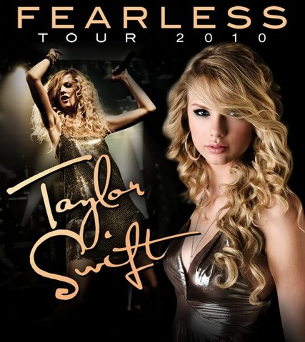 Taylor Swifts first tour.