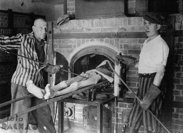 Dachau uses their crematoria