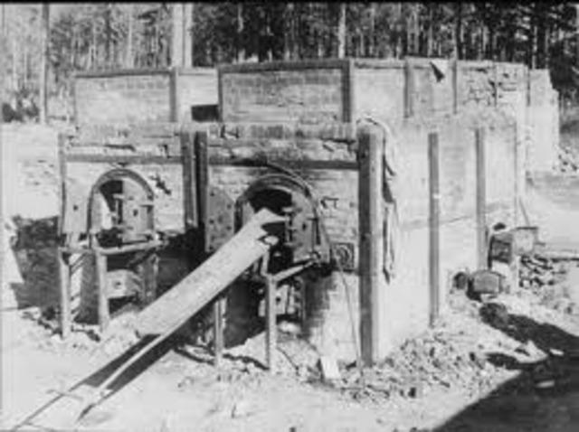 Auschwitz uses their crematoria