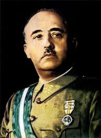 General Francisco Franco dies