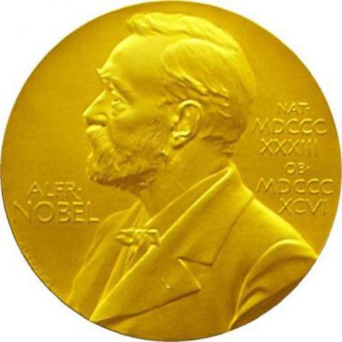 Elie receives the Nobel Peace Prize