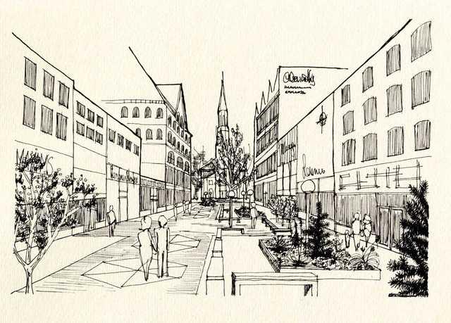 Church Street Sketch-Up