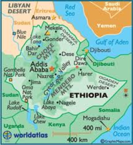 Italian Army invades Ethiopia